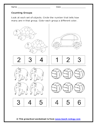 counting worksheet preschool free worksheets library download