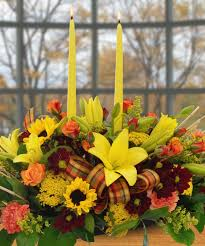 grateful gathering floral arrangements thanksgiving