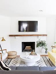 Fireplace Decor Best 25 Tv Above Fireplace Ideas On Pinterest Tv Above Mantle