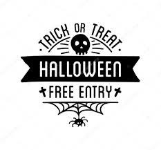 happy halloween white background happy halloween logo u2014 vector de stock 124148788 u2014 depositphotos