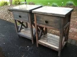 Woodworking Plans Bedside Table Free by Beautiful Indoor U0026 Outdoor Furniture U0026 Crafting Plans Diy