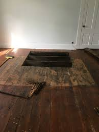 Laminate Floor Patch Strip Sand Refinish And Patch Old Antique Pine Floor Wood Floor Refinishing Louisville Kentucky Img 5287 Jpg Width U003d800