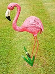 tropical flamingo statue co uk garden outdoors