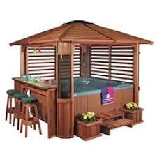 Gazebo With Bar Table Best 25 Hot Tub Bar Ideas On Pinterest Hot Tubs Hot Tub Deck