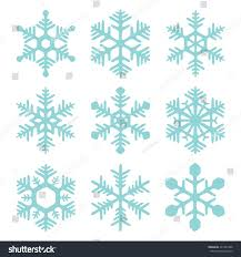 snowflake icons set sketch style vector stock vector 241983328