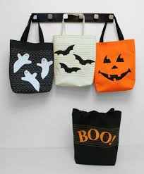 trick or treat bags sewing pinterest bag cricut and craft