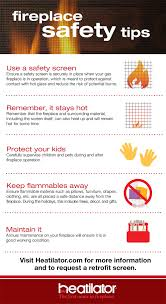 important fireplace safety tips heatilator