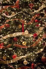ribbon on christmas tree affordable ideas diy ribbon christmas