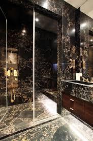Luxury Bathroom Tiles Ideas Bathroom Luxury Bathroom Interior With Modern Mosaic Black Tiles