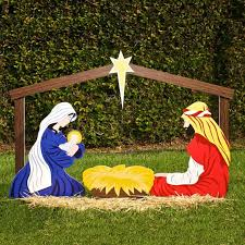 Animated Christmas Lawn Decorations by Decoration Decoration Staggering Christmas Yardons Wood For Sale