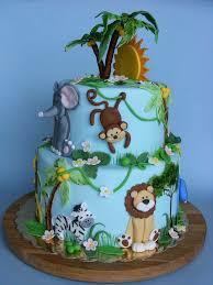 jungle theme cake jungle birthday cake decorations image inspiration of cake and