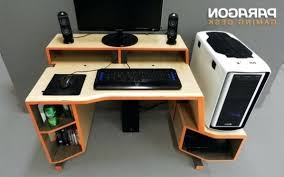 Desk Computer For Sale Desk Computer Gaming Australia L Shaped Custom Pertaining To