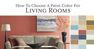 how to choose a paint color for a living room