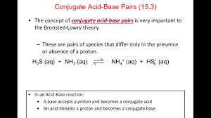 chapter 15 intro to acids and bases youtube