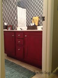 How To Redo Bathroom Cabinets How To Transform Your Bathroom Vanity Farm Fresh Vintage Finds