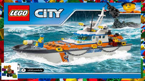 Lego Headquarters Lego Instructions City Coast Guard 60167 Coast Guard