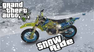 motocross biking gta 5 first person snow dirt bike trail ride xbox one