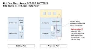 open plan kitchen diner living room layout