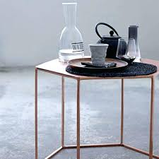 Hexagon Side Table Hexagon Side Tables Hexagon Side Table Or Stool Raham Co