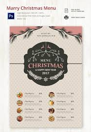 free printable dinner menu template printable template 2017