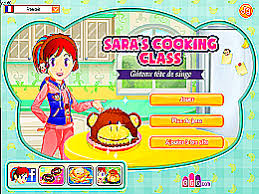 jeux de cuisine gateau gratuit gâteau tête de singe école de cuisine de un des jeux en