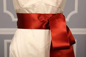 satin sash belt wedding doubled faced satin colored sashes sash