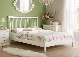 take a clean approach to french shabby chic décor olson bed
