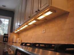 Romantic Kitchen Decor Using Kitchen Cabinet Lighting With Black