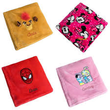 53 disney personalized fleece throws only 12