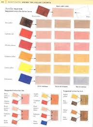 color and paint color chart for painting skin tonesi have these very helpful if