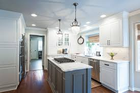 Oil Rubbed Bronze Kitchen Cabinet Pulls by Our Painted Kitchen Cabinets Chris Loves Julia Kitchen