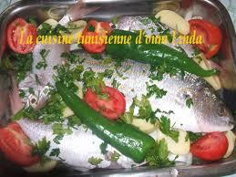 cuisine tunisienne poisson poisson au four la cuisine tunisienne d oum c est