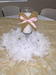 centerpieces for bautizo angel heaven baptism party ideas baptism party heavens and angel