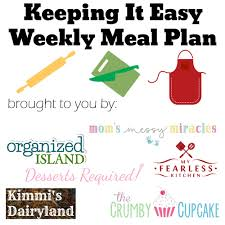 Dinner For The Week Ideas Meal Plan Ideas For The Week