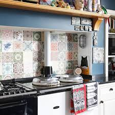 Blue Kitchen Walls by Kitchen Splashbacks Kitchen Design Ideas Ideal Home