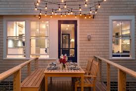 lighting stores portland maine portland maine outdoor string lighting deck beach style with windows