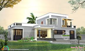 1800 Square Feet by 1800 Sq Ft Flat Roof Small Budget Home Kerala Home Design