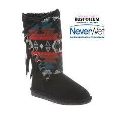 womens paw boots size 12 bearpaw boshie s boot 1669w free shipping free