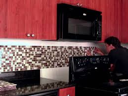 adhesive backsplash tiles for kitchen interior handsome backsplash tile for kitchen peel and