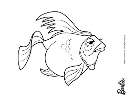 lovely fish oceana printable coloring pages hellokids