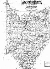 Map Of Pennsylvania With Cities by Armstrong County Pennsylvania Township Maps