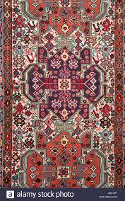Cotton Wool Rugs Rug Red Yellow Green Pink Texture Pile Modern Carpet Fabric Wool
