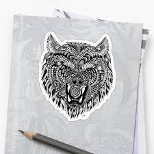 mandala wolf mandala wolf by melanie vasina