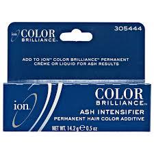 Blue Ash Color by Ion Color Brilliance Ash Intensifier