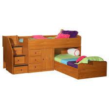Captains Bunk Beds Berg Captain S L Shaped Bunk Bed Wayfair Cool