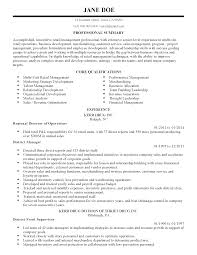 Strategy Resume Professional Retail Management Professional Templates To Showcase