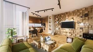 beispiele wandgestaltung wohnzimmer wandgestaltung 30 beispiele mit 3d effekt