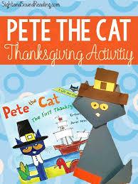 pete the cat thanksgiving activity great for kindergarten