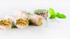 paper wraps spicy shrimp kimchi rice paper wraps mindful by sodexo