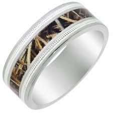 camo wedding rings for camo wedding bands themes inspiration